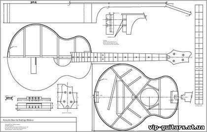 Как сделать 6 струнную гитару своими руками