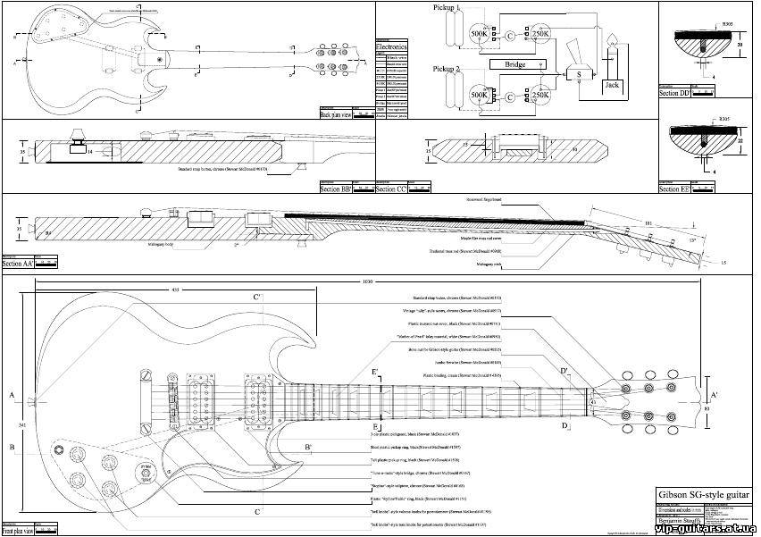 Гитары модели SG Supreme